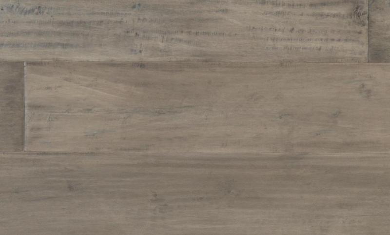 Cadence Maple Collection Storm Gray 90 in, Hand-Scraped, Dark Grey, Engineered-Wood, Trim