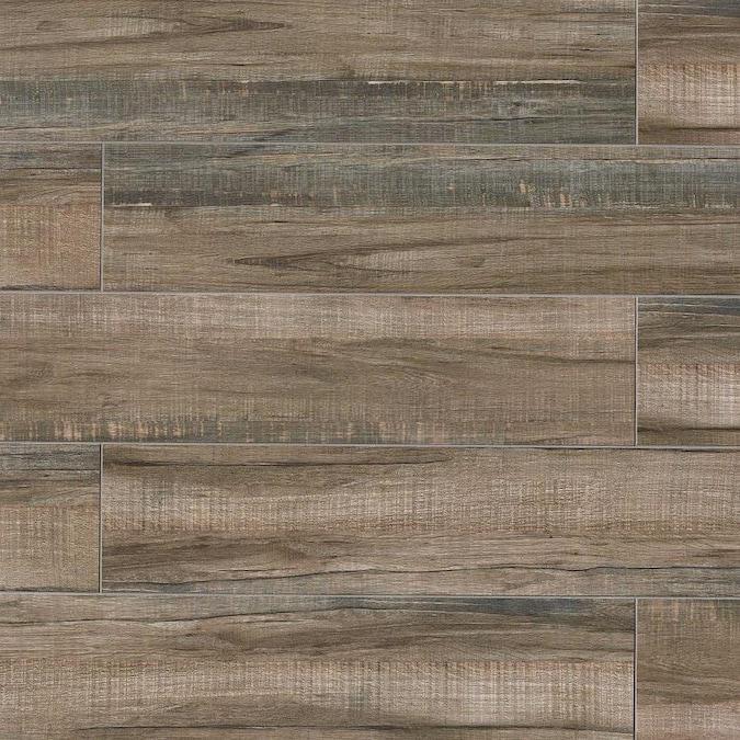 Forest Walnut 8x24, Matte, Porcelain, Tile, (Discontinued)
