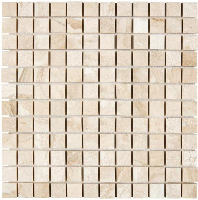 Marble Diano Reale 1x1 Square Polished   Mosaic
