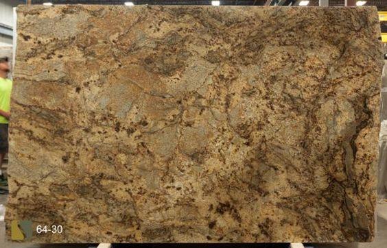 Granite Golden Crystal 57x120 0.75 in   Slab