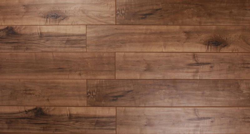 The Glens Collection Dark Tan 6.5x48, Embossed, Laminate