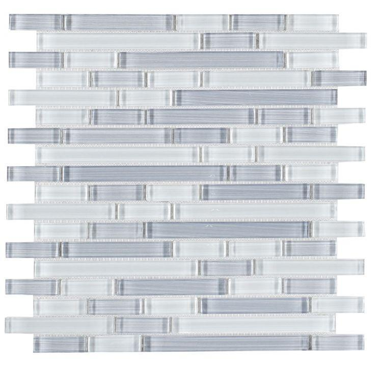 Linear Glass Rain Goose Glossy   Mosaic