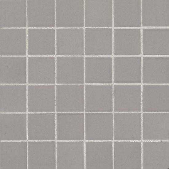 True Grey Linktec Dot Mounting 2x2 Square Matte Porcelain  Mosaic