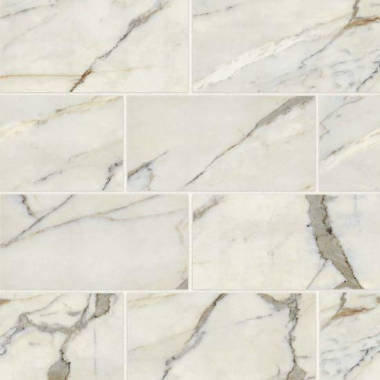 Classic 2.0 Calacatta Oro Polished 12x24 Color Body Porcelain  Tile