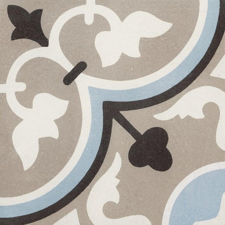Reverie Décor 7 8x8, Glazed, Square, Through-Body-Porcelain, Tile