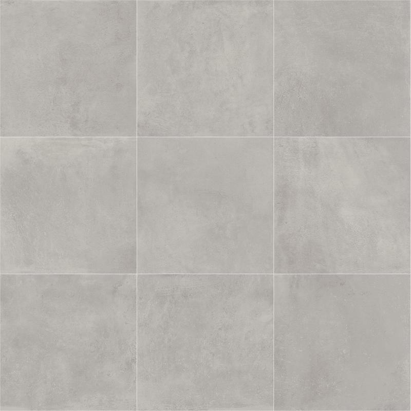 Portfolio Dove Grey 24x24, Matte, Gray, Square, Color-Body-Porcelain, Tile