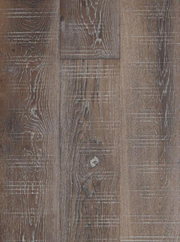 Seneca Valley Collection Potomac 90 in, Aluminum-Oxide, Dark Brown, European-Oak, Engineered-Wood, Trim