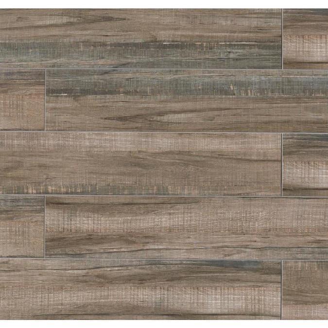 Forest Walnut 8x36, Matte, Porcelain, Tile, (Discontinued)