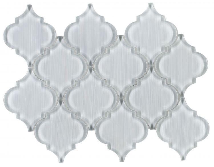 Arabesque Aladdin Goose Glossy Glass  Mosaic
