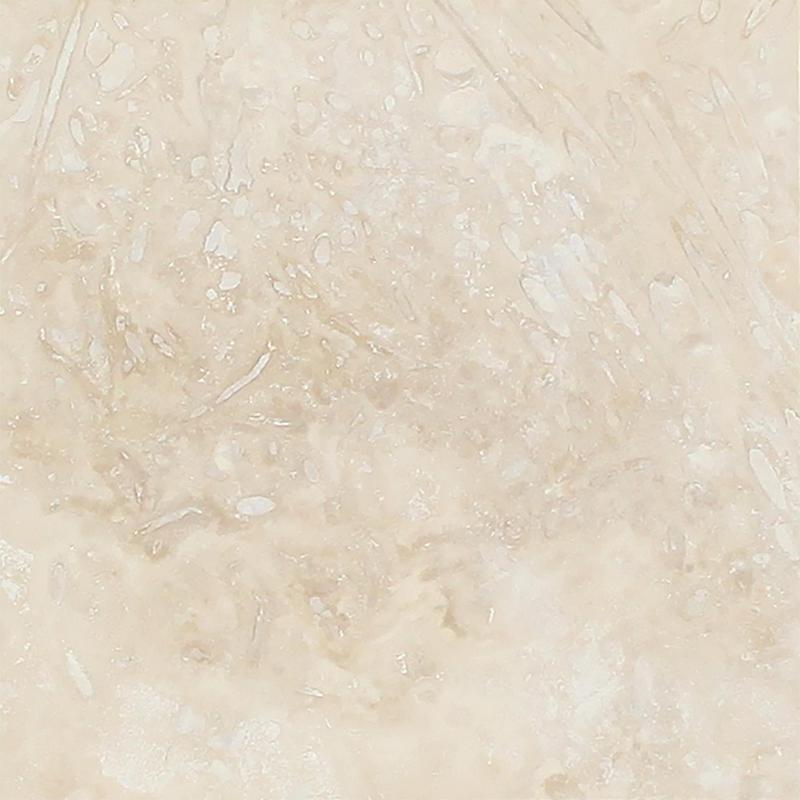 Ivory Premium Travertine Tile 24x24 Honed  Vein Cut