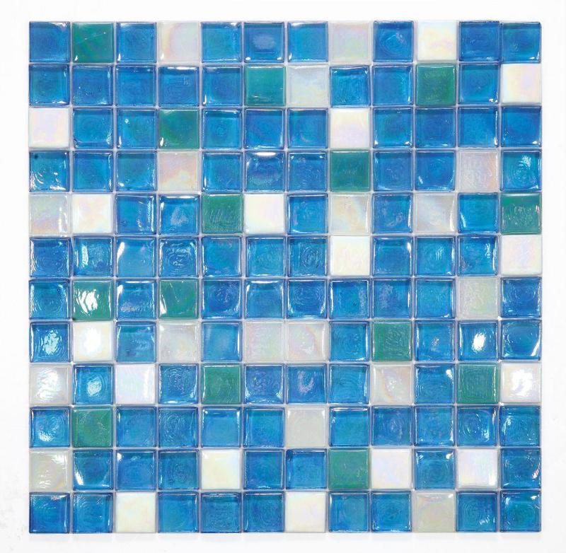 Laguna Sky Square  Glass  Mosaic