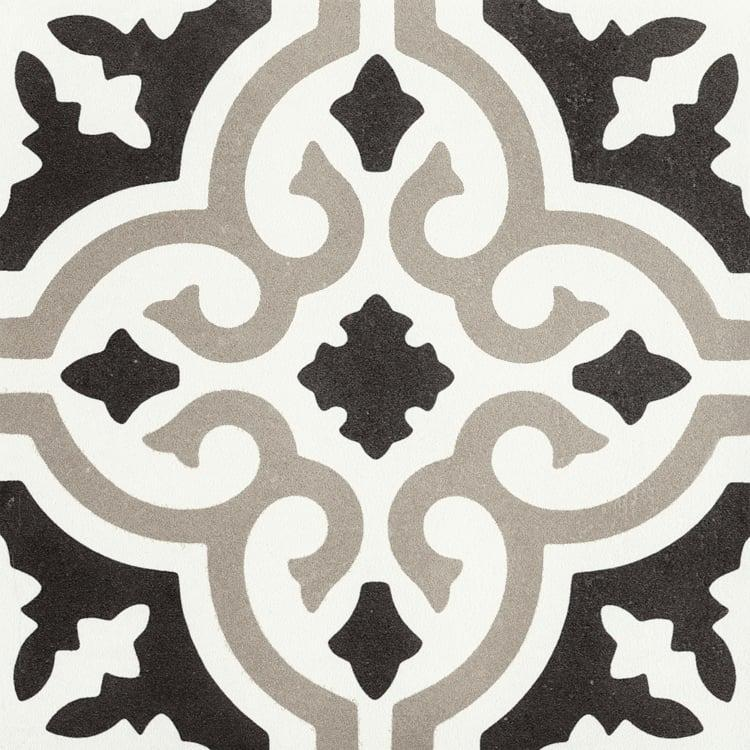 Reverie Décor 5 8x8, Glazed, Square, Through-Body-Porcelain, Tile