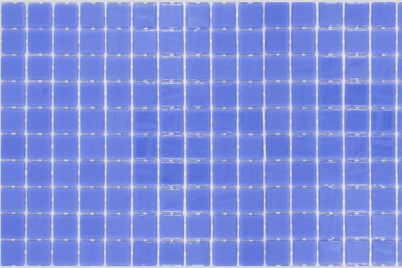 Onix Lisa Azul Claro 1x1 Square  Glass  Mosaic