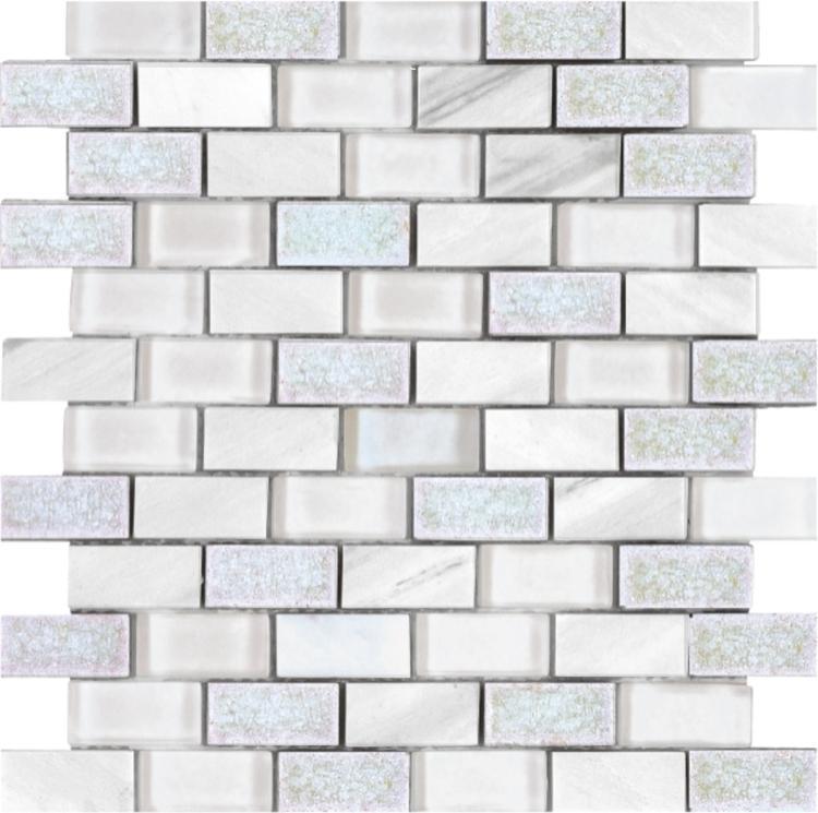 Jewel Fairy 1x2 Brick  Glass  Mosaic