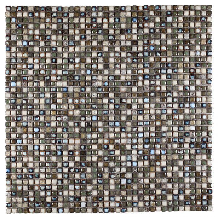 Roman Atlas 1x1 Square  Porcelain  Mosaic