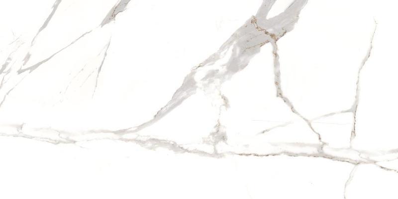 Calacatta Oro Polished, Glazed 24x48 Porcelain  Tile