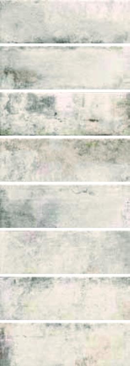 Cantina Ca 10 Bianco Matte, Glazed 4x12 Porcelain  Tile