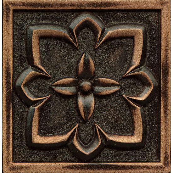 Ambiance Romanesque Venetian Bronze Glossy 4x4 Resin  Trim