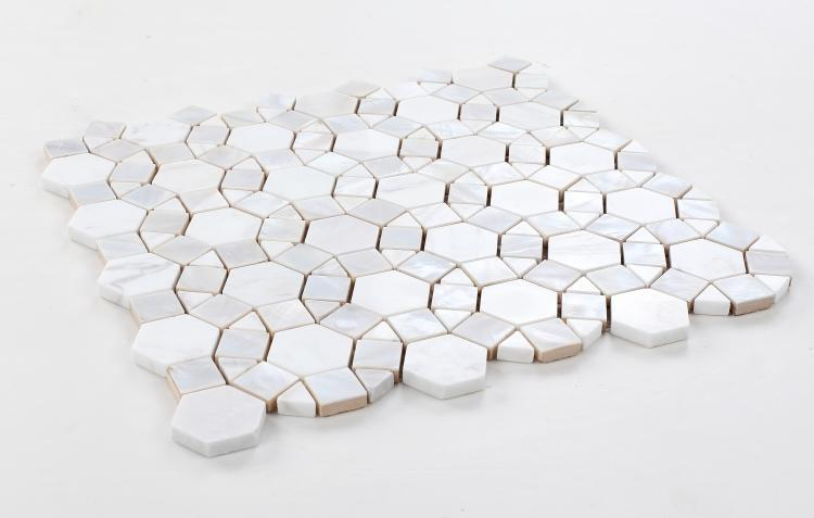 Diana Aether Circular  Pearl  Mosaic