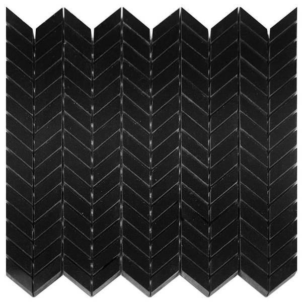 Granite Absolute Black Mini Polished   Mosaic