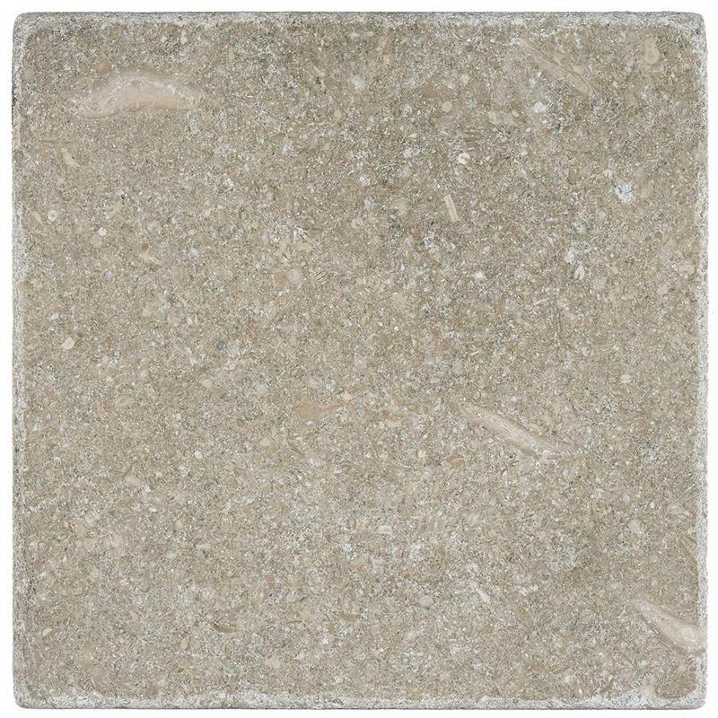 Seagrass Limestone Tile 6x6 Tumbled