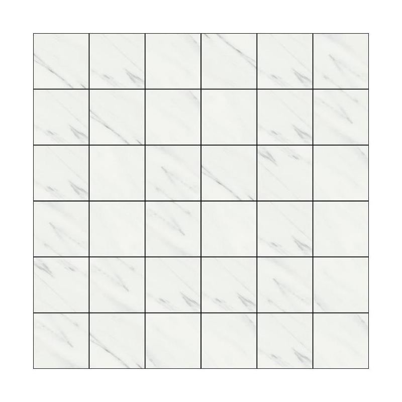 Marmolab Calacatta 2x2 Square Polished Porcelain  Mosaic
