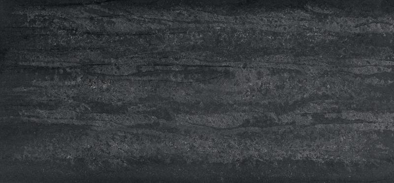 Supernatural Series Black Tempal Standard 57x120 20 mm Natural Quartz Slab