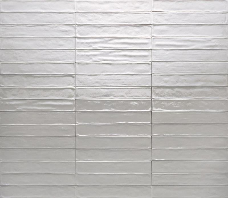 Ceramica Rondine Solid Grigio Glossy 2.5x15 Ceramic  Tile