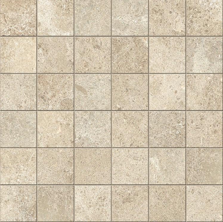 Novabell Sovereign Beige 2x2 Square Natural Porcelain  Mosaic