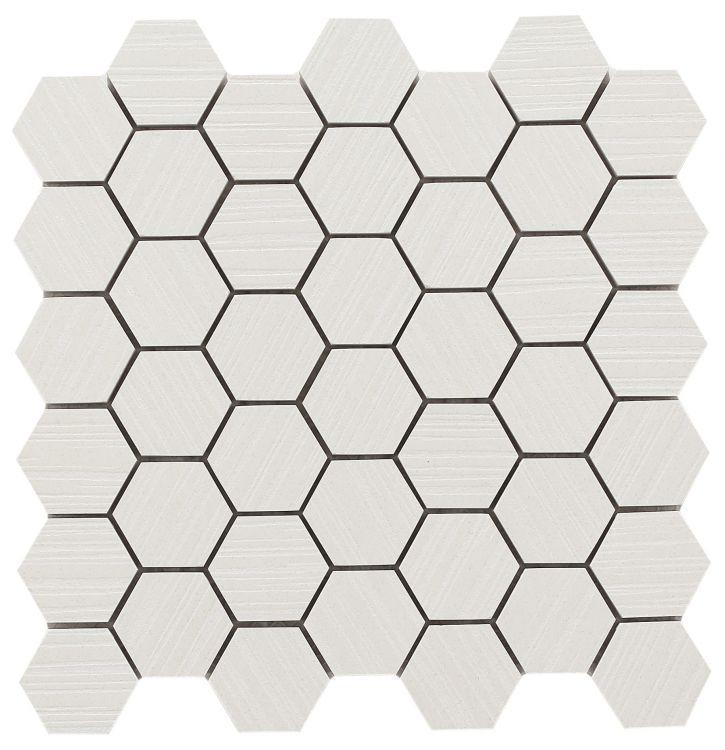 Horizon Snow 2x2 Hexagon  Porcelain  Mosaic