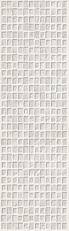 Elevation White Project Textured, Matte 11.50x39.50 Ceramic  Tile