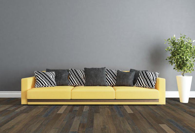 Seneca Valley Collection Sherwood 7.5xfree length, Wire-Brushed, Brown, European-Oak, Engineered-Wood