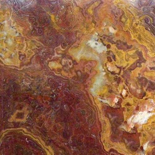 Multi Red Onyx Tile 12x12 Polished