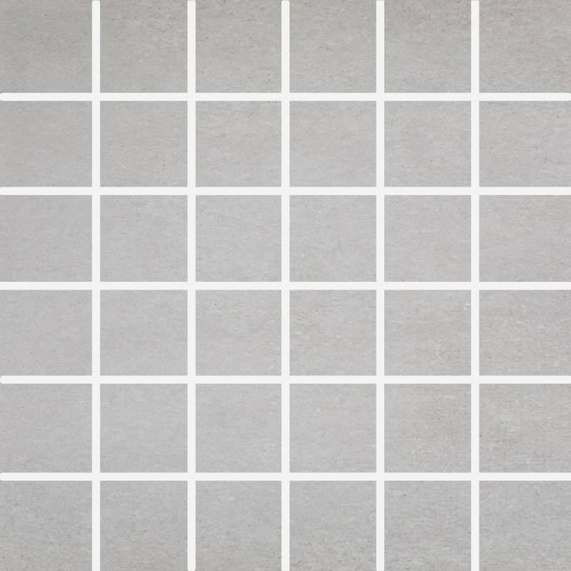 Concrete Grey 2x2 Square Matte Porcelain  Mosaic