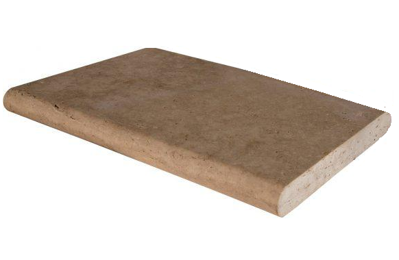 Pool Copings Tuscany Walnut 16x24, Honed, Brown, Coping, Travertine, Tile