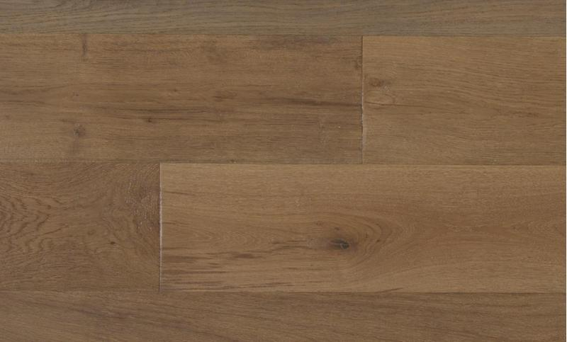 Capistrano Oak Collection Fawn 9.5xfree length, Wire-Brushed, Brown, Engineered-Wood