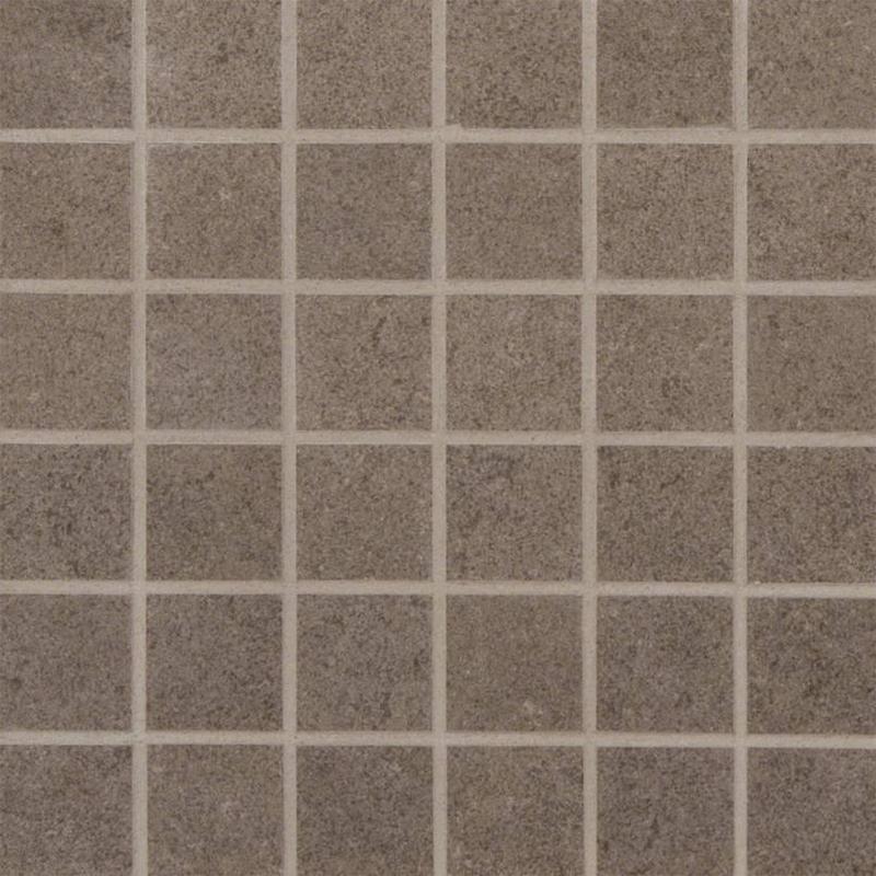 Porcelain Tiles Dimensions Concrete 2x2, Matte, Light Grey, Square, Full-Body-Porcelain, Mosaic