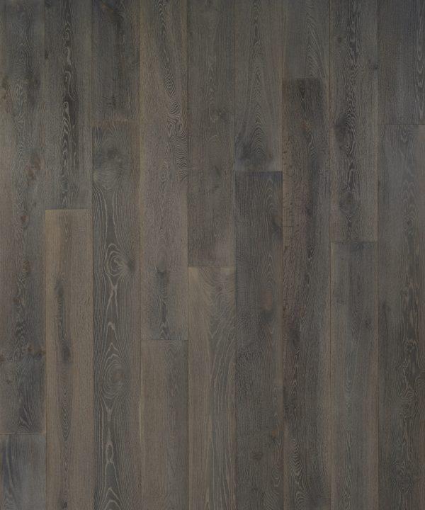Seneca Valley Collection Montgomery 90 in, Wire-Brushed, Dark Grey, European-Oak, Engineered-Wood, Trim, (Discontinued)