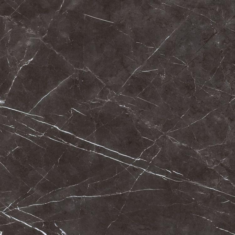 Lava Dark Grey Polished, Glazed 24x24 Porcelain  Tile