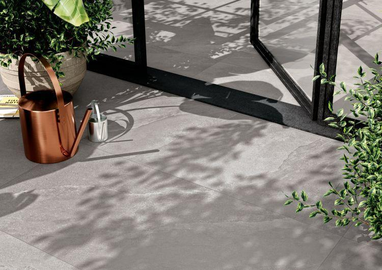Ashima Grey Matte, Glazed 12x24 Porcelain  Tile