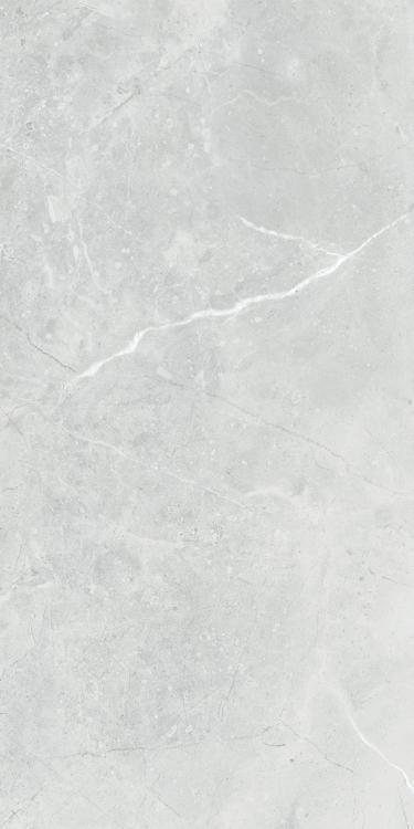 Lava Silver Grey Polished, Glazed 12x24 Porcelain  Tile