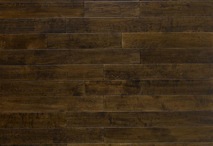 Engineered Selections Mocha 90 in, Hand-Scraped, Brown, Birch, Engineered-Wood, Trim, (Discontinued)