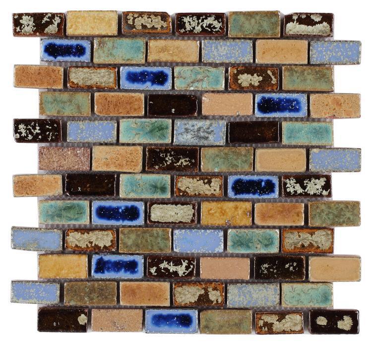 Roman Spain Brick  Porcelain  Mosaic