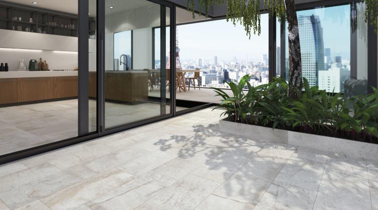 Climb Hcl 10 Bianco Matte, Glazed 12x24 Porcelain  Tile