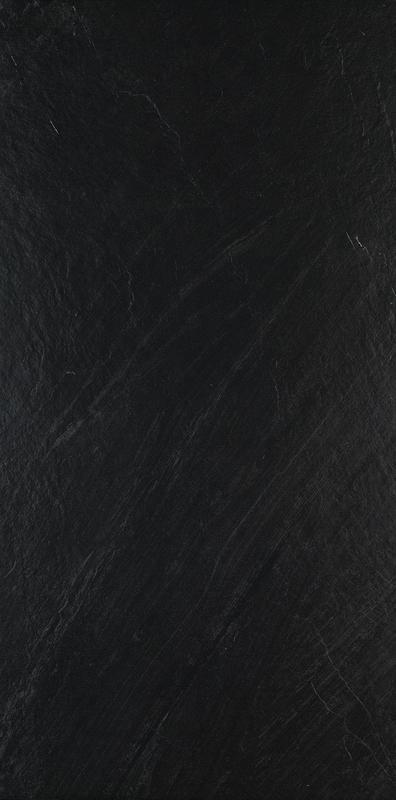 Delegate Black 24x24, Unpolished, Square, Color-Body-Porcelain, Tile