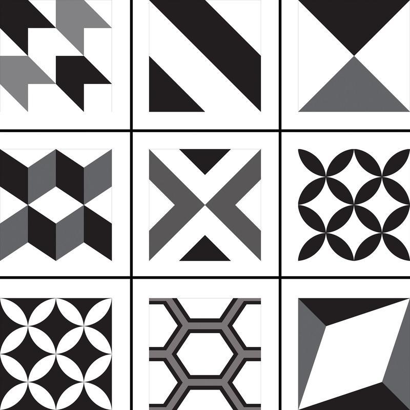Natural Hues Vision Group 2 8x8, Matte, Square, Ceramic, Tile