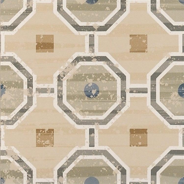 Cementine Evo 2 8x8, Glazed, Square, Porcelain, Tile