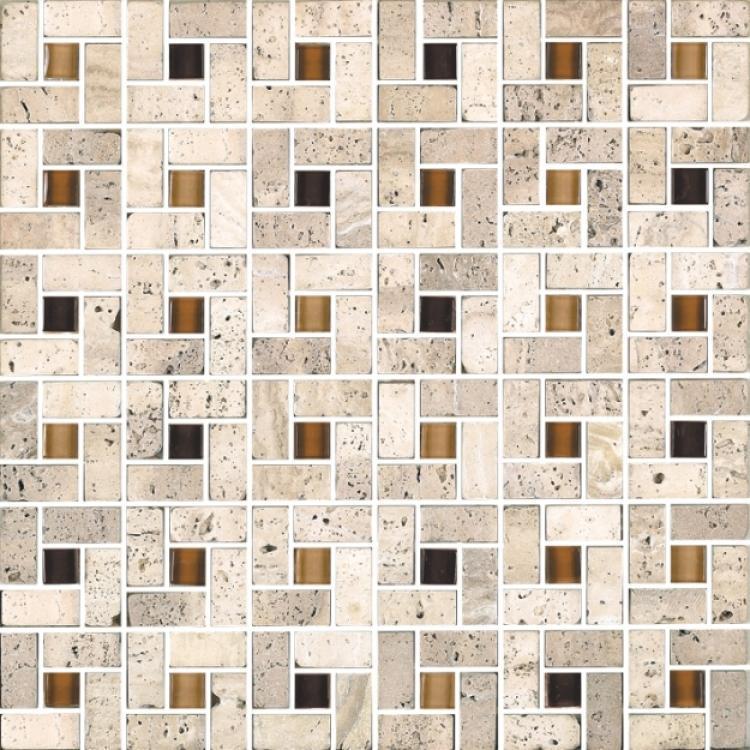 Milano Helios Square Glass  Mosaic