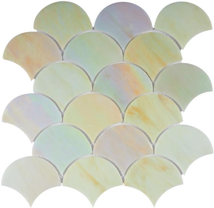Newport Scale Flare Glass  Mosaic