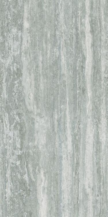 I Travertini Grey Glossy 16x32 Porcelain  Tile